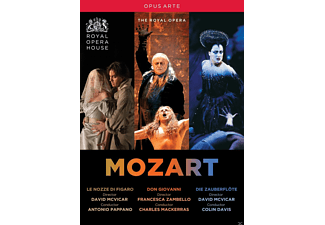 VARIOUS, Royal Opera Chorus, Orchestra Of The Royal Opera House - Mozart Operas - (DVD)