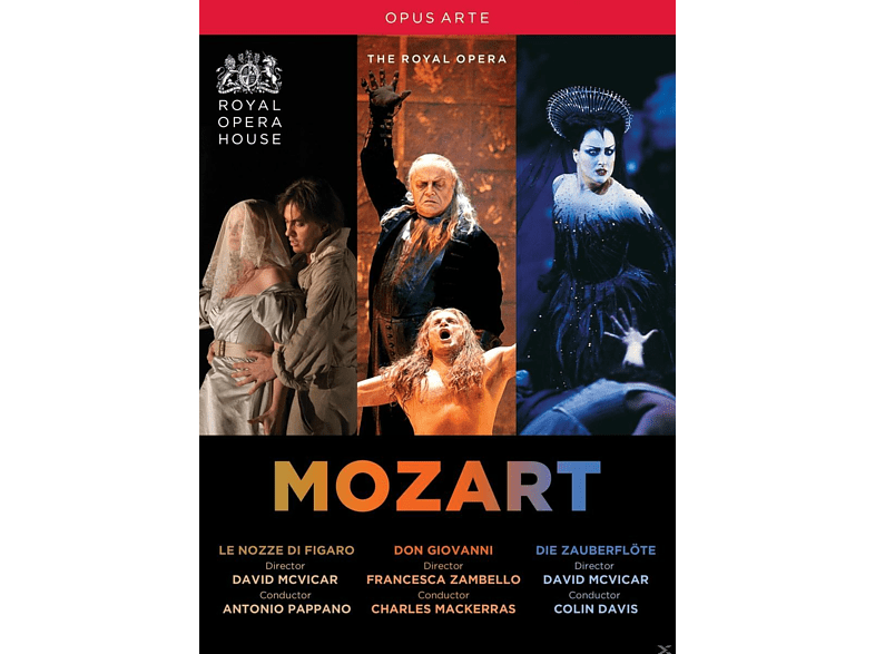 VARIOUS, Royal Opera Chorus, Orchestra Of The Royal Opera House - Mozart Operas [DVD]