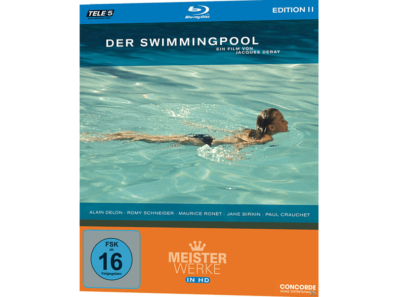 SWIMMINGPOOL (MEISTERWERKE IN HD 11) [Blu-ray]