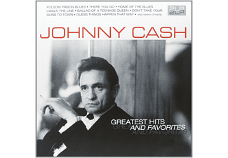 Johnny Cash - GREATEST HITS & FAVORITES - (Vinyl)