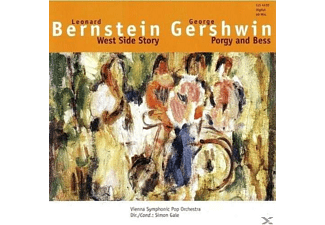 Vienna Symphonic Pop Orchestra - WEST SIDE STORY (GERSHWIN: PORGY & BESS) - (CD)