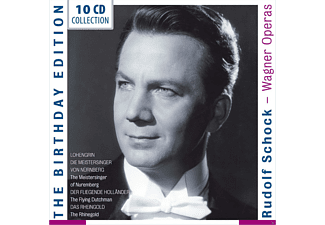 Rudolf Schock, Gottlob Frick, Maud Cunitz, Josef Metternich, Margarete Klose, Marianne Schech, Fritz Wunderlich, Dietrich Fischer-Dieskau, Ferdinand Frantz, Res Fischer, Ilse Koegel, Wolfgang Windgassen - Wagner Operas-The Birthday Edition - (CD)