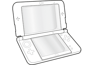 SPEEDLINK GLANCE Screen Protector New 3DS XL