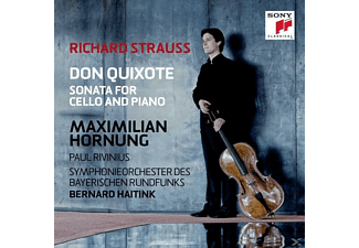 Hornung/Rivinius/Sym.Orchorchester Des BR/Jansons - Don Quixote & Cellosonate Op.6 [CD]