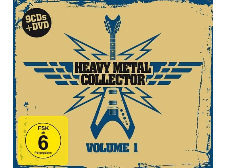 VARIOUS - Heavy Metal Collector Vol.1 [CD]
