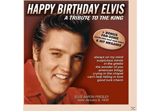 VARIOUS - Happy Birthday Elvis - (CD)