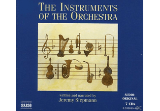 The Instruments Of The Orchestra - 7 CD + Buch - Hörbuch