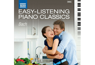 VARIOUS - Easy Listening Piano Classics: Bach - (CD)