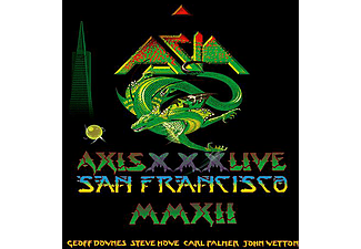 Asia - Axis XXX - Live in San Fransisco MMXII (CD + DVD)