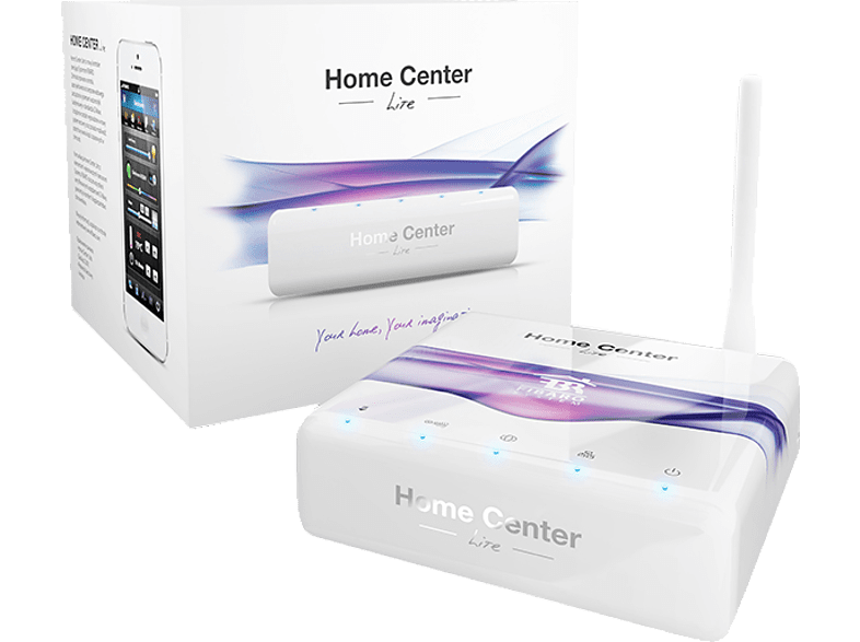 FIBARO FIB_FGHCL Home Center Lite - Z-Wave Funktechnik Home Center