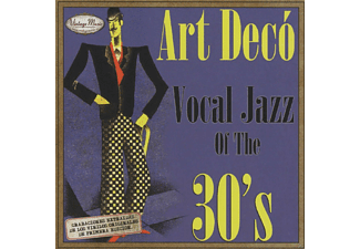 VARIOUS - Art Decó Vocal Jazz Of The 30s - (CD)