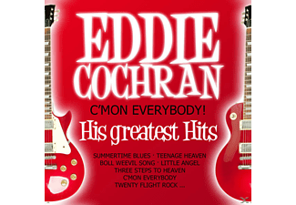 Eddie Cochran - C' Mon Everybody! His Greatest Hits [Doppel-Cd] - (CD)