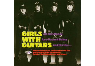 VARIOUS - Girls With Guitars [CD]