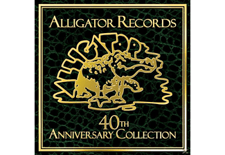 VARIOUS - The Alligator Records 40th Anniversary Collection - (CD)