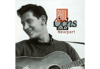 Phil Ochs - Live At Newport - (CD)