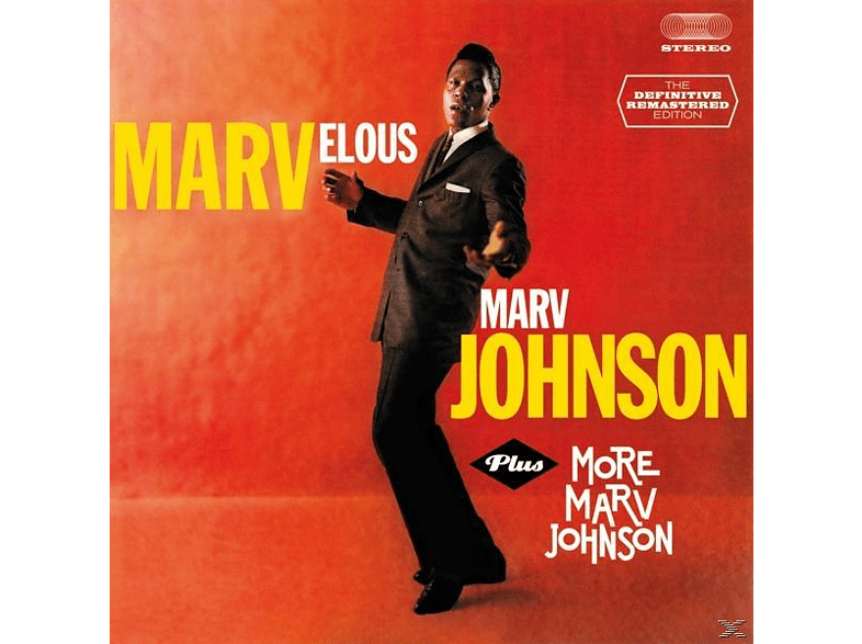 Marv Johnson - Marvelous Marv Johnson+More [CD]