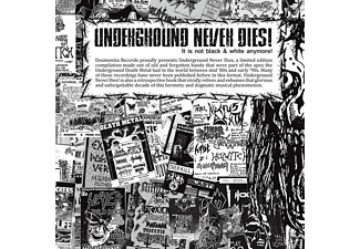 VARIOUS - Underground Never Dies - (CD)