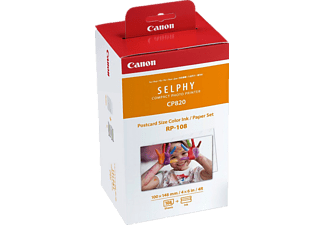 CANON RP-108 High-Capacity Color Ink/Paper Set (8569B001AA)