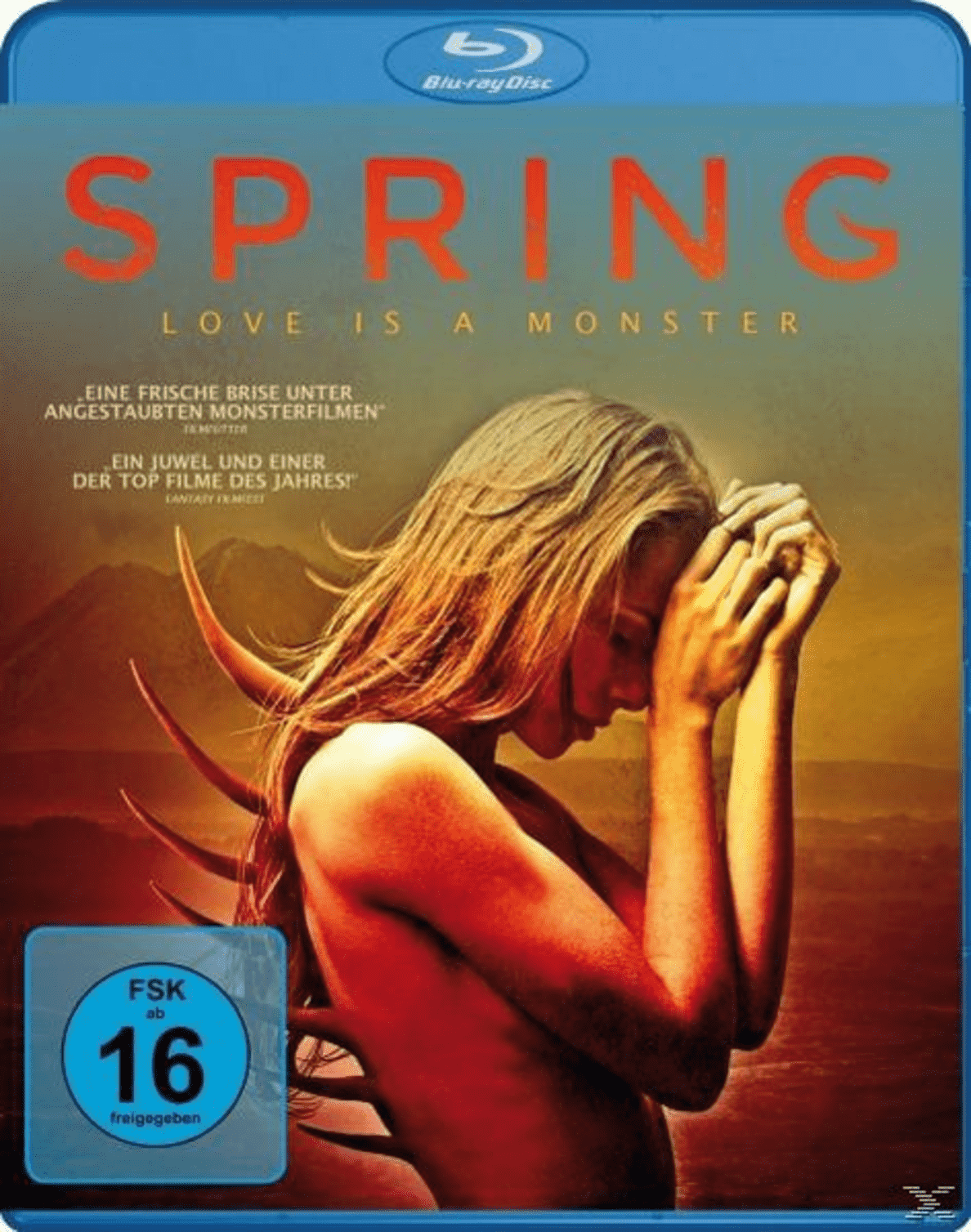 SPRING - LOVE IS A MONSTER auf Blu-ray