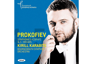 Kirill Karabits;Bournemouth Symphony Orchestra - Sinfonien 4 & 5 [CD]