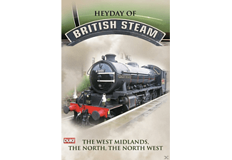 Heyday Of British Steam - West Midl [DVD]
