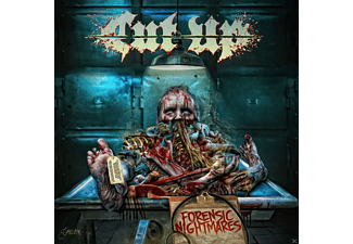 CUT/UP Forensic Nightmares (LP) Heavy Metal Vinyl