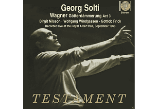 Birgit Nilsson, Gottlob Frick, Orchestra Of The Royal Opera House, Royal Opera Chorus, Wolfgang Windgassen, Jones Gwyneth - Götterdämmerung, 3.Akt (Live Recording Sept.1963) - (CD)