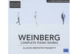 Allison Brewster Franzetti - Complete Piano Works - (CD)