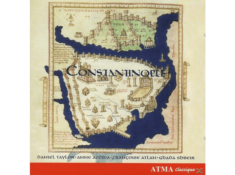 C.J. Taylor, Taylor/Constantinople - Constantinople Best Of [CD]