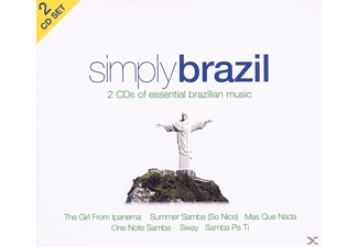 VARIOUS - Simply Brazil (2cd) - (CD)