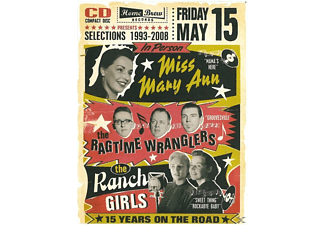 MISS MARY ANN,MISS MARY ANN & RAGTIME WRANGLERS,THE - SELECTIONS 1993-2008 - (CD)