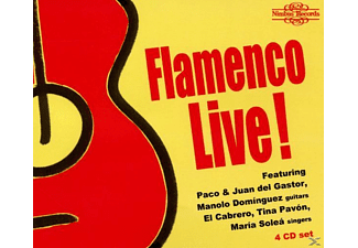Del Gastor/Dominguez/Cabrero/+ - Flamenco Live - (CD)