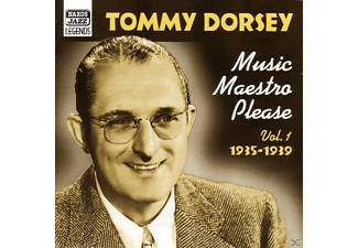And His Orchestra, Tommy Dorsey - Music Maestro Please - (CD)