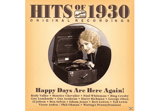 VARIOUS - Hits Of 1930-Happy Days Are [CD]