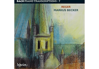Markus Becker - Bach Klaviertranskriptionen 7 - (CD)