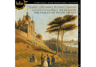 Paul Nicholson, The Parley Of Instruments - English 18th-Century Keyboard Concertos - (CD)