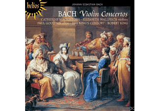 Catherine Mackintosh, Paul Goodwin, Elizabeth Wallfisch, The King's Consort - Violinkonzerte - (CD)