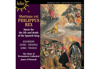 O'DONELL,JAMES & CHOIR OF WESTMINSTER CATHEDRAL,THE, WESTMINSTER CATHEDRAL CHOIR / JAMES O'DONNELL - Mortuus est Philippus Rex - (CD)
