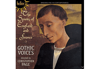 Christopher Page: Gothic Voices - The Spirits of England and France Vol.3 - (CD)