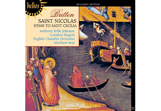 Matthew Best, Corydon Singers, Anthony Rolfe-johnson - Saint Nicolas/Hymn to St Cecilia - (CD)