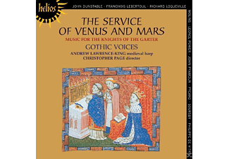 Andrew Lawrence-King, Page, Gothic Voices, Lawrence-King/Page/Gothic Voices - The Service of Venus and Mars - (CD)
