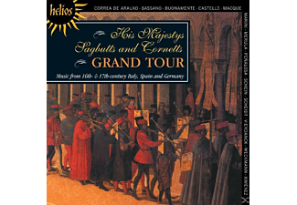 His Majestys Sagbutts And Cornetts - Musik aus Spanien/Italien/Deutschland - (CD)