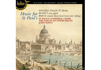 St Paul's Cathedral Choir, The Parley Of Instruments - Music for St Paul's - (CD)