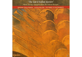 BALSOM/STEELE-PERKINS/PARLEY OF INS, Balsom/Steele-Perkins/Parley - The Fam'd Italian Masters - (CD)