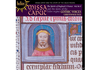 Christopher Page, Gothic Voices - The Spirits of England and France Vol.4 - (CD)
