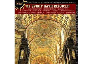 Scott, St.Paul's Cathedral Choir - My Spirit Hath Rejoiced - (CD)