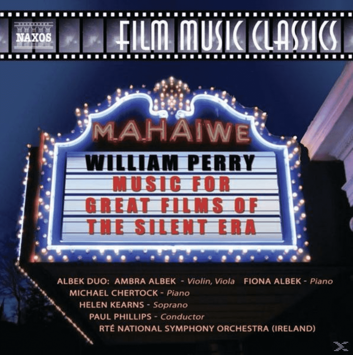 Music for Great Films of the Silent Era Phillips & Rte National Symphony, Phillips/Rte National Symphony Orchestra auf CD
