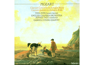KING/ENGLISH CHAMBER ORCHESTRA, King,Th./Tate,J./English Chamber Orchestra - Klarinettenkonzert/Klarinettenquitntett - (CD)
