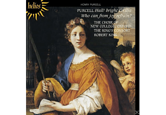King's Consort & Choir Of New College Oxford - Hail! bright Cecilia/Who can from joy refrain - (CD)