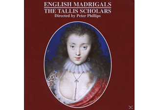 The Tallis Scholars - ENGLISH MADRIGALS - (CD)